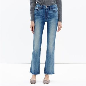 Madewell Jeans 10 inch High riser Demi boot